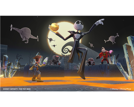 Disney Infinity Jack Skellington figure from Gamestop