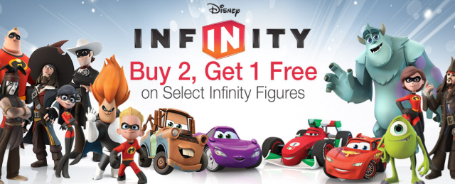 Disney Infinity Figures Buy 2 Get 1 Free