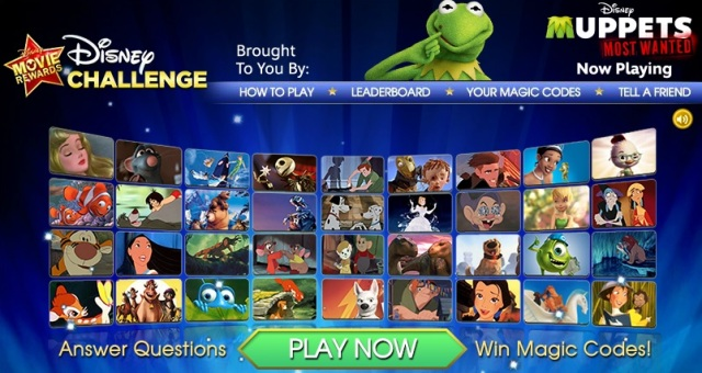 Disney Movie Rewards Facebook Challenge for 5 FREE Points