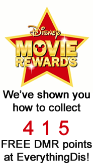 EverythingDis Disney Movie Rewards FREE DMR Points Counter