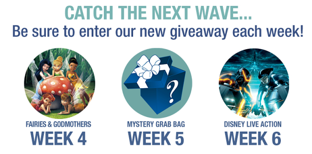 Disney Movie Rewards Splash Into Summer Giveaway Week 3 Preview