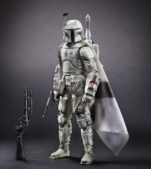 Hasbro Star Wars Black Series Prototype Boba Fett Figure Preview