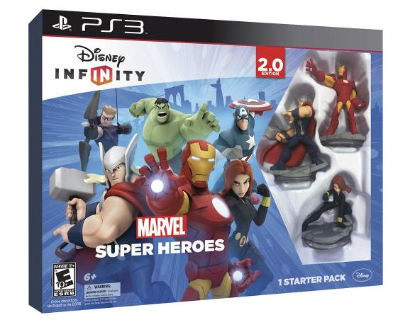 Disney Infinity 2.0 Marvel Superheroes Collector's Edition Free Figure Playset Power Disc Best Buy Deal